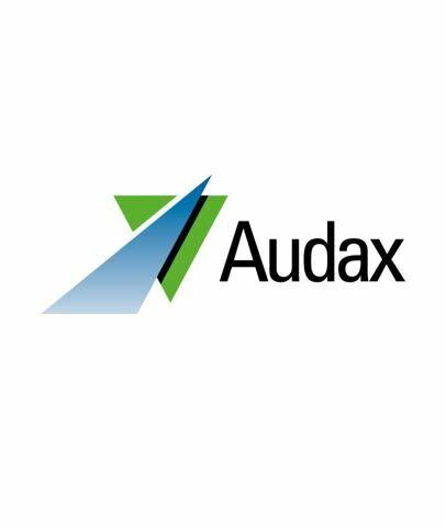 Audax Logo Wit