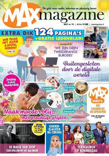 Max Magazine Cover